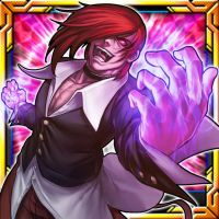 SNK KoF cards color Iori by r-chie