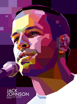 Jack Johnson in WPAP by toniagustian