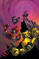 TF RiD #18 cover colors by dyemooch
