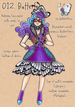 PokeFashion 012: Butterfree by thelettergii