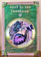 Fairy Thank you card by blackrose1959