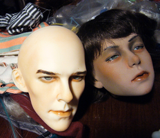 Cumberdoll and Niccolo new face-ups by Kaxen6