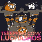 LUCHABROS T-SHIRT by ftongl