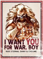 I Want YOU for WAR, BOY by hugohugo