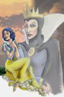 Snow White and Evil Queen 2013c by BrianTyson
