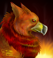 Fire Griffin by Bonday