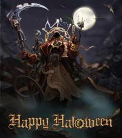 Happy Haloween :) by Comrade-Ogilvi