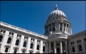 State Capitol in Summer by nofrojeff2000
