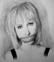silence is golden. by MCRgripa