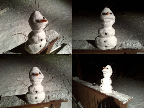 Olaf from Frozen by Gletters