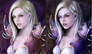 Jaina Proudmoore Recolored by Amelie-Amelie