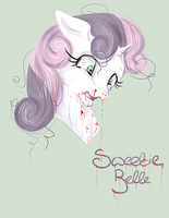 Oh Sweetie Belle.. by EnigmaticalMe