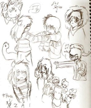 Sketches 1 by Mother2-Paula