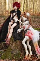 Deep in the Woods by Labeculas-Dollhouse