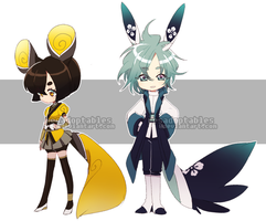 ADOPTABLES 77 [KIMONOMIMI | CLOSED] by resadoptables