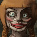 Daily Sketches Annabelle by fedde
