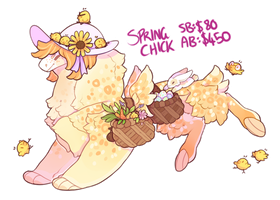 Easter Mami 2 Auction - Spring chick - (CLOSED) by Ponacho