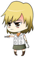 Chibi Heather Mason by cah25
