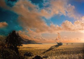 Hyperion: The Sea of Grass by nathanspotts