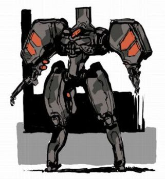 untitled mech by genocidalpenguin