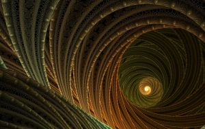 Crackled Julian Rings Tunnel by HalTenny