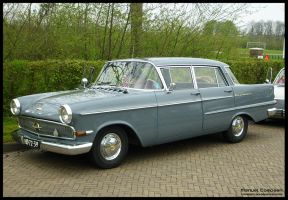1962 Opel Kapitan by compaan-art