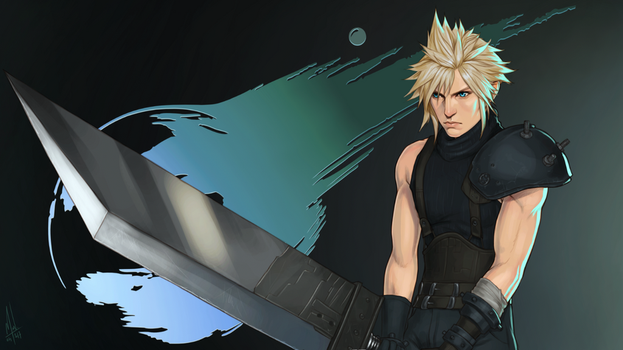 Cloud Strife by Merwild