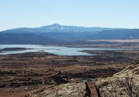lake abiquiu from the top by agent229