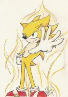 Super Sonic by MonkeyHeartless