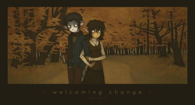 - welcoming change - by mutsy