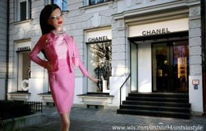 Barbie Chanel by ANTXIA