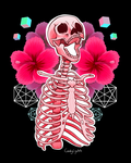 Aesthetic Skeleton by CandyCrystals