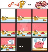 Fred comic Kirby by alsquall