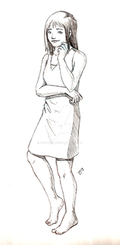 Girl in a Chemise by Obi-quiet