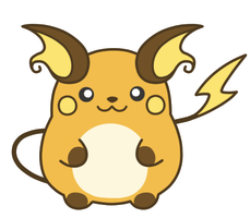 PC: Chibi Raichu by Riuori