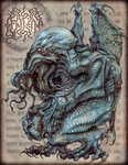 Mighty Cthulhu by JeffRussell