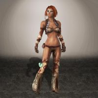 Golden Axe Beast Rider Tyris Default by ArmachamCorp