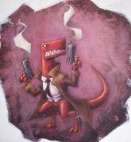 t rex assassin by the-slift