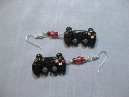 Game Controller Earrings by okapirose