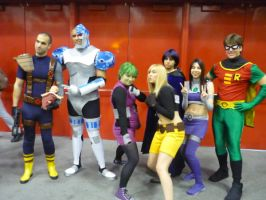 Teen Titans by CaliforniaCosplayers