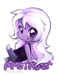 Amethyst by secret-pony