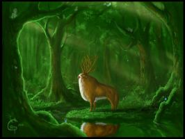The Deep Forest by Alpenminuial