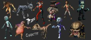 Characters 2012 by muttleymark