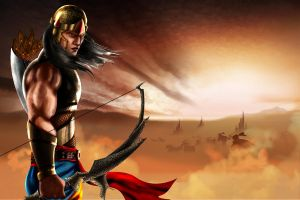 The Last warrior, Abhimanyu by devianchild