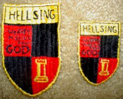 Hellsing Crest Patch by sewingbikergirl