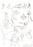 Left Handed figure sketches ex by westwolf270