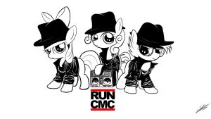 RUN CMC - Wallpaper version by Dori-to