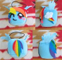Rainbow Dash Tofu - Better Pics by Tofutastic