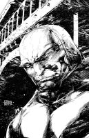 Darkseid by johnnymorbius