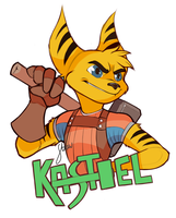 Kastiel Badge Commission by StrawsDraws